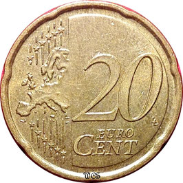 Slovenia 20 Cents 2007 KM#72 VF