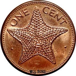 Bahamas 1 Cent 1985-2004 KM#59a
