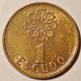 Portugal 1 Escudo 1986-2001 KM#631