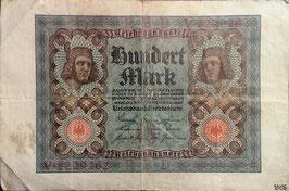 Germany 100 Mark 01.11.1920 Ro 67a Underprint/Series G/V