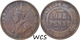 Australia 1 Penny 1928 KM#23 F