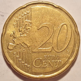 France 20 Cents 2007-2016 KM#1411