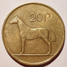 Ireland 20 Pence 1986-2000 KM#25