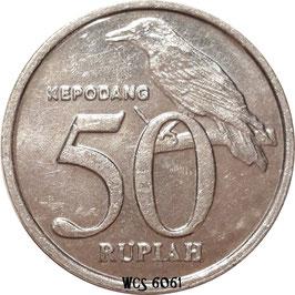 Indonesia 50 Rupiah 1999-2002 KM#60