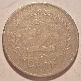 Hungary 2 Forint 1950-1952 KM#548