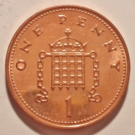 Great Britain 1 Penny 1998-2008 KM#986