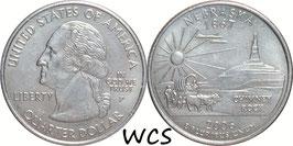 USA ¼ Dollar 2006 P Nebraska KM#383 XF