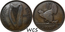 Ireland 1 Penny 1935 KM#3 F+