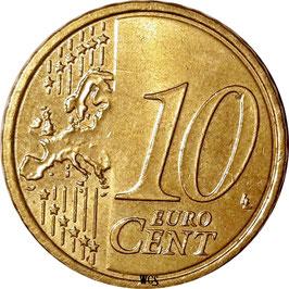Austria 10 Cents 2008-2017 KM#3139