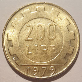 Italy 200 Lire 1977-2001 KM#105