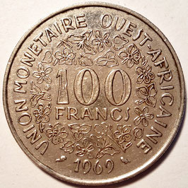 West African States 100 Francs 1967-2009 KM#4