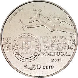 Portugal 2,50 € 2011 European Explorers - Capelo & Ivens KM#806 UNC