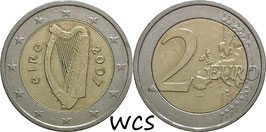 Ireland 2 Euro 2007 KM#51 VF