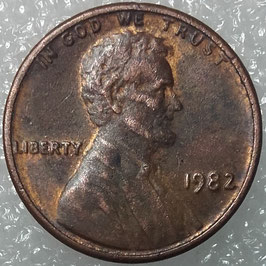 USA 1 Cent 1982 KM#201a