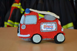 Feuerwehrauto Gehäkelt