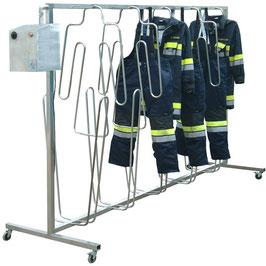 mobile Trockneranlage für schwere Schutzbekleidung FIREMAN