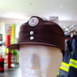 Uniformkappe braun