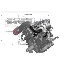 CTS Turbo BOSS Kit Garrett GTX für Golf 7 GTI, Golf 7R usw. (EA888 Gen.3)