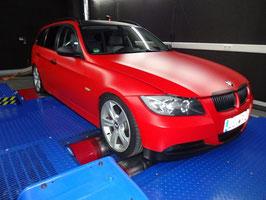 Leistungssteigerung BMW E90 330D 272PS Stage 1 auf ca. 315PS / 640NM