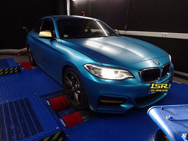Leistungssteigerung BMW F10 518D 143PS Stage 1 auf ca. 180PS / 370NM