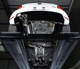 MILLTEK Abgasanlage Polo WRC