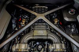 Leistungssteigerung R8 V10 (4S) 540PS / 610PS  auf ca. 850PS / 750NM Kompressor Umbau
