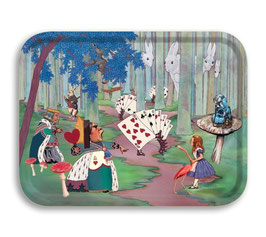 Tablett Alice in Wonderland