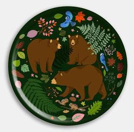 Tablett Bären groß rund