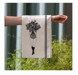 Geschirrhandtuch Blumenstrauß