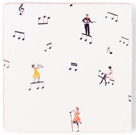 Kachel Musik liegt in der Luft