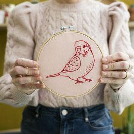 Stickset Vogel