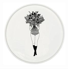 Kuchenteller Blumenstrauß