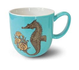 Tasse Seepferdchen