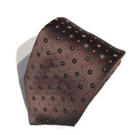 Braune Seiden-Krawatte ERMURI