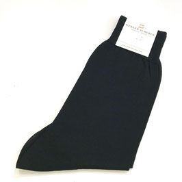 Socken in Baumwolle, schwarz