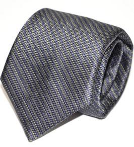 Krawatte | Linie navy/grün | 8 cm