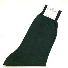 Socken in Baumwolle, dunkelgrün