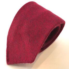 Rote Cashmere-Krawatte ROCCO, bicolor