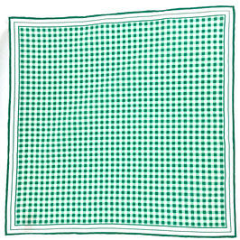 Pochette | VICHY, grün