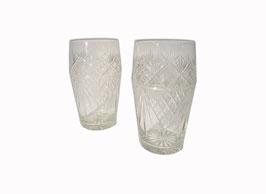 Bierglas Kristall Paar 20er