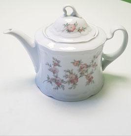 Teekanne mit Blüten Seltmann Weiden 1980