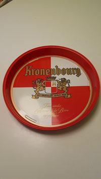 Serviertablett Metall Kronenbourg