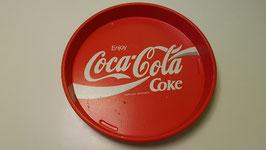 Coca Cola Tablett aus Metall
