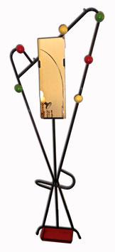 Wandgarderobe mit Spiegel 1950