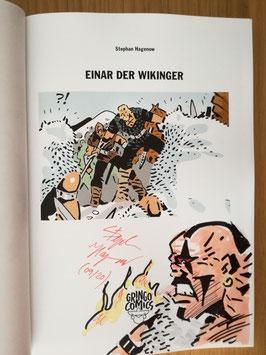 """Einar der Wikinger 1 signiert """"Anführer Wolfsbande"""""""