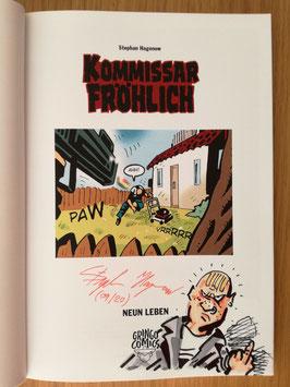"""Kommissar Fröhlich 11: Neun Leben - signiert """"Schechte Laune"""""""