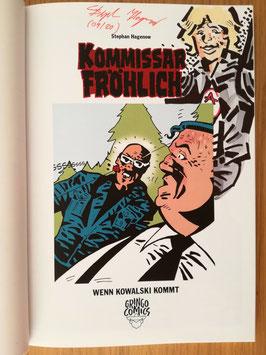 """Kommissar Fröhlich 9: Wenn Kowalski kommt - signiert """"Max"""""""
