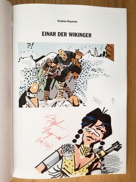 """Einar der Wikinger 1 signiert """"Weeneh-Tah"""""""