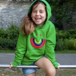HOODIE KIDS - GROEN - happy smiles