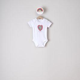 BODYSUIT BABY - colours of love